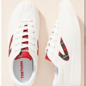 Tretorn Plaid Low Top Sneaker Shoes 7